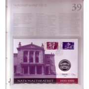 Myntbrev nr. 39. Nationaltheatret 100 år.